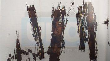 Creadora. La figura de Gloria Montoya es una de las más relevantes del arte de Entre Ríos
