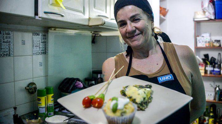 Claudia Martínez prepara una picada genial y todo casero