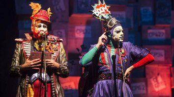 Premio. Con este show obtuvieron el segundo puesto en el Concurso de Carnaval de Montevideo 2019.