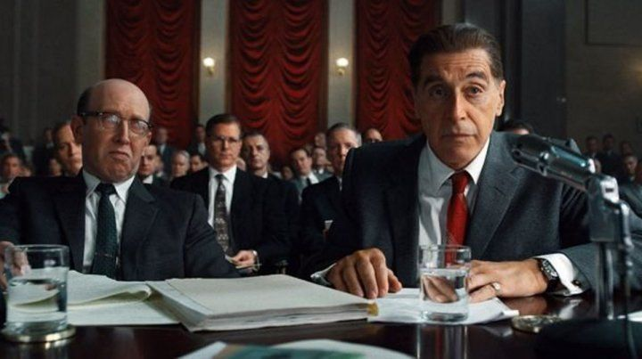 Rol. Al Pacino interpreta a Jimmy Hoffa