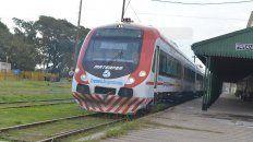 se restablecio el servicio de trenes