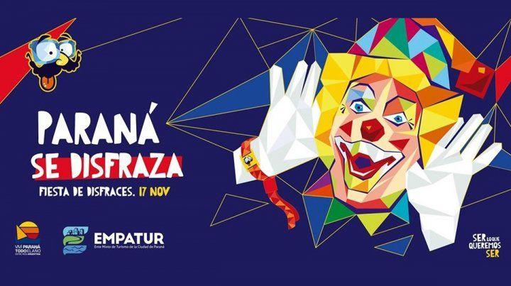 Junto a FDD2019, llega una nueva edición de Paraná se Disfraza