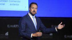 En baja. Leandro Cuccioli, director de la AFIP, presentó los resultados de la recaudación de octubre.