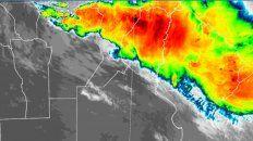 alerta por tormentas fuertes o severas incluye a entre rios