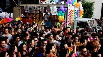 este sabado se realiza la 28° marcha del orgullo