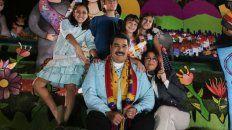 Feliz. Con un pesebre de fondo, Maduro anunció el inicio de las fiestas navideñas un 1º de noviembre.