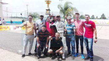 Fabio y equipo.