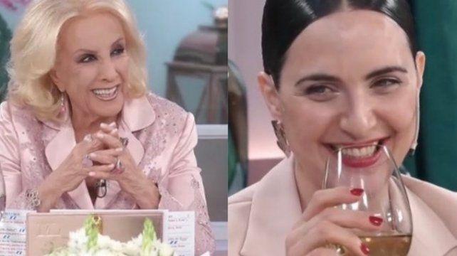 Julieta Díaz le pidió a Mirtha que la invite a Cristina que siempre gana