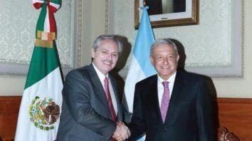 fernandez se reunio con el presidente de mexico