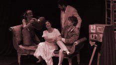 Protagonistas. La obra cuenta con las actuaciones de Gabriela Verón, Pablo Franco y Augusto Carballal.