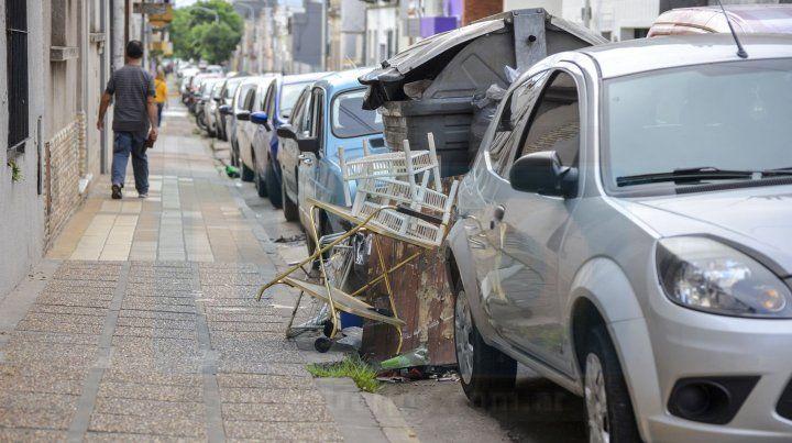 La basura se sigue acumulando en Paraná