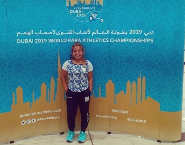 Una entrerriana en el Mundial de Paraatletismo
