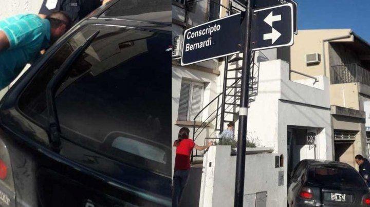 Pánico por un auto sin control en avenida Don Bosco