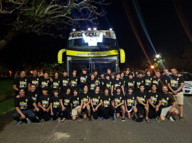 Los M14 de Estudiantes y Rowing, de gira por Uruguay