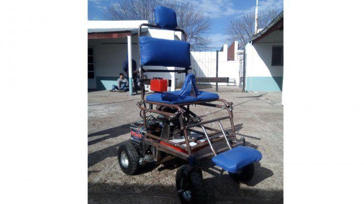 Nueva silla para personas con discapacidad motora