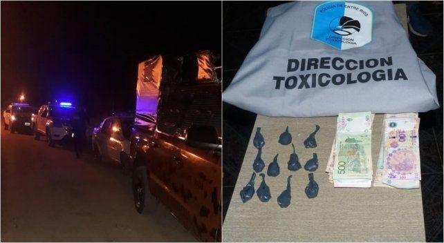 Narcomenudeo: seis detenidos y secuestro de droga