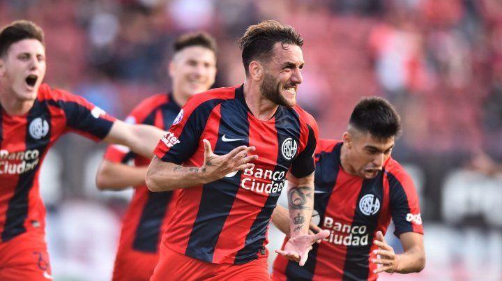 San Lorenzo sorprendió al líder Argentinos