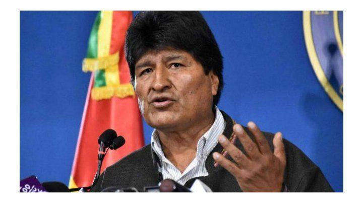 Evo Morales renunció a la presidencia tras denunciar un golpe de Estado