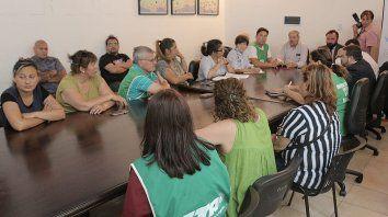 paso a un cuarto intermedio la reunion entre el municipio de parana y gremios