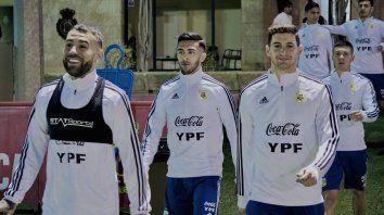 La selección metió primera en Mallorca