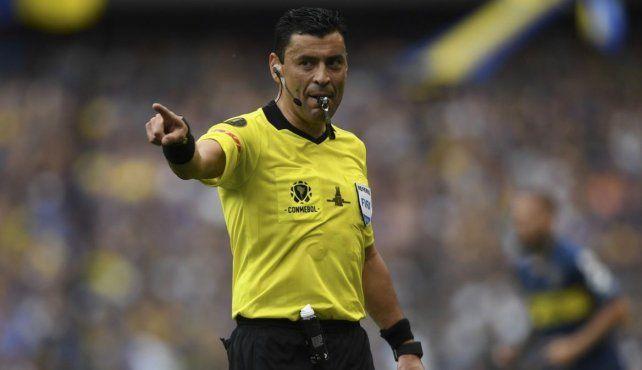 El chileno es considerado uno de los mejores árbitros de Sudamérica.