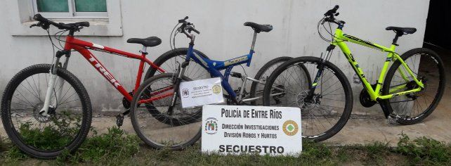 Robaban Bicicletas De Alta Gama En Santa Fe Y Las Llevaban A
