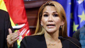 la senadora anez se proclamo presidenta interina de bolivia