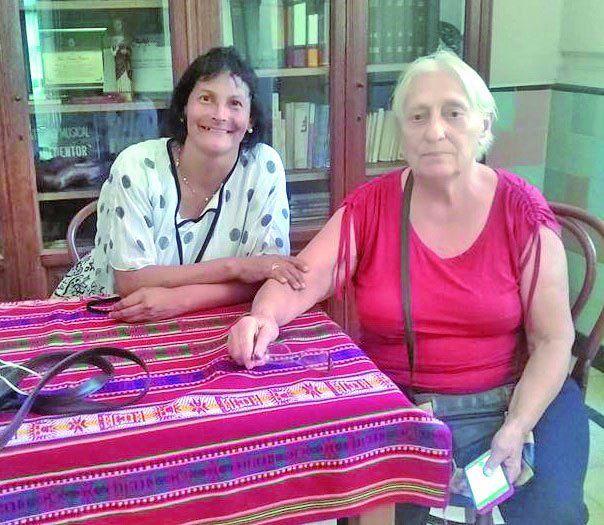 Sandra y Maris contaron como es la vida campo adentro.