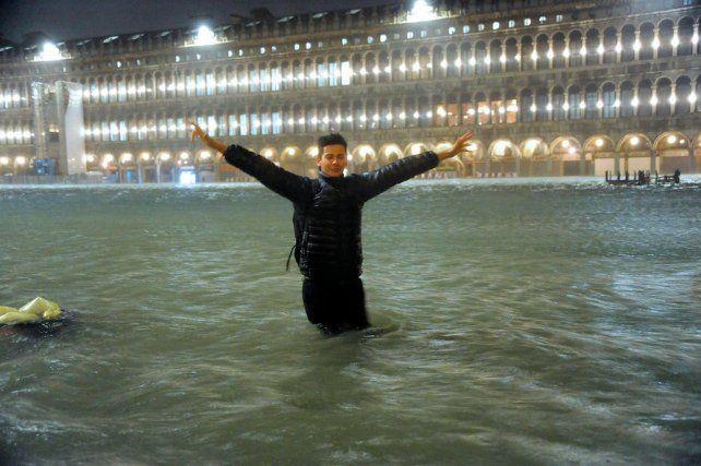Devastación total: dos muertos y el 80% de Venecia bajo agua por la histórica marea alta
