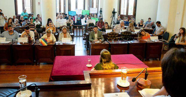 Concejo: se escuchó el reclamo de la Escuela Municipal de Danzas