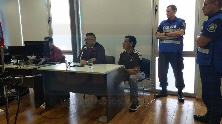 Audiencia. Hoy se acordó el juicio abreviado y la pena de cinco años de cárcel. Foto: Javier Aragón