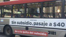 Nación enviará 10 millones de pesos para el transporte público de la provincia