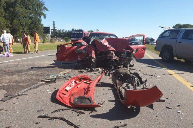 En la ruta más peligrosa hubo un triple choque con varios lesionados