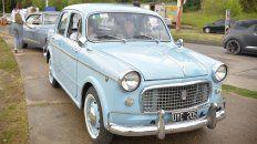 Caravana estuvo compuesta por las marcas de autos contemporáneas a la década del 60