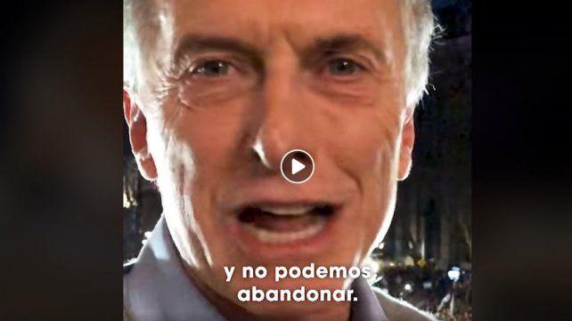 Mauricio Macri convocó a un acto de despedida del gobierno en Plaza de Mayo