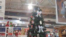 Los productos navideños ya llegaron a las góndolas con subas de hasta un 50%