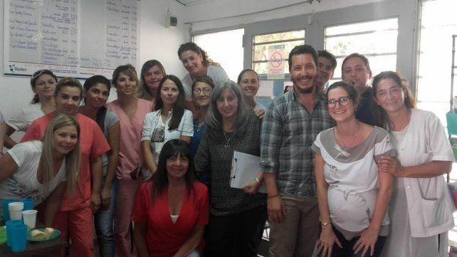 Significativo acto en el centro de salud Malvinas Argentinas