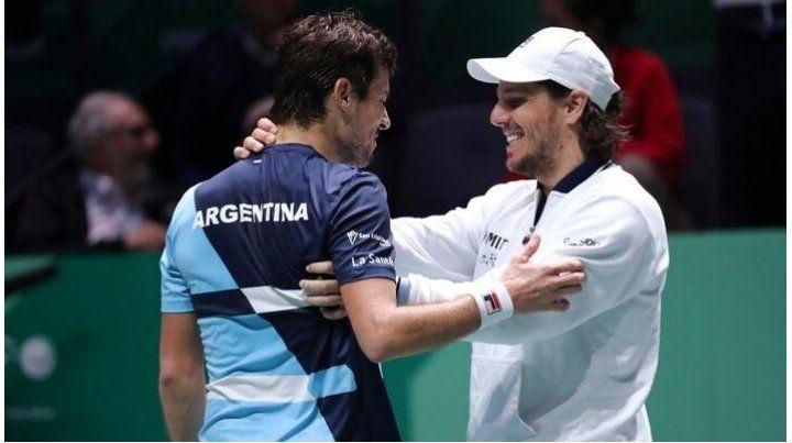Argentina arrancó con el pie derecho la Copa Davis