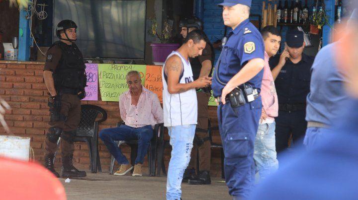 Desalojo: Con una cuota de drama se aplicó la ley