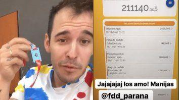 fdd 2019: por error les acreditaron 250 mil pesos para consumir