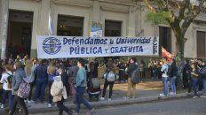 Universidades reclaman al Gobierno por atraso de cinco meses de partidas