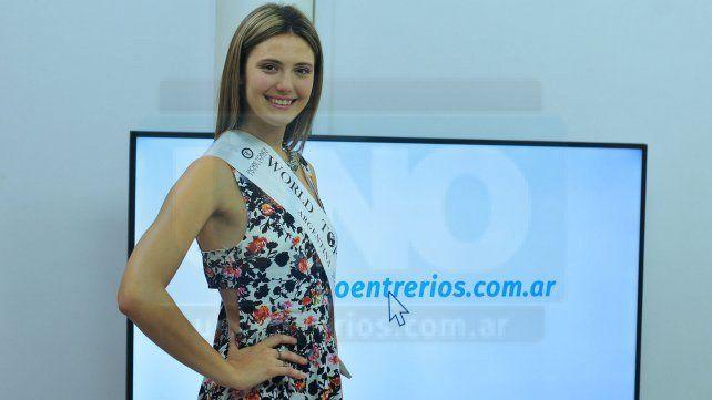 Vialense será la embajadora argentina en el World Top Model