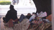 urge la ayuda para gente en situacion de calle en estado de alta vulnerabilidad
