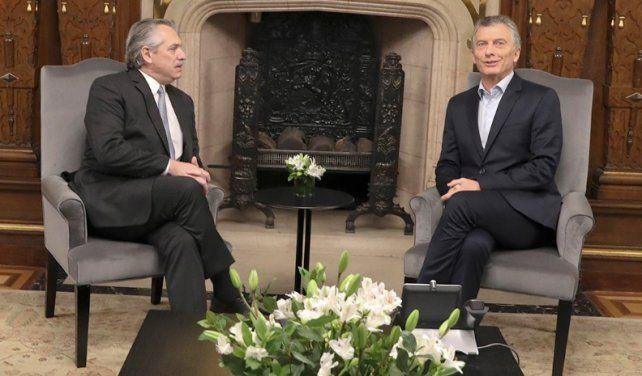 Macri le anticipa a Fernández que no se aprobarán a libro cerrado las primeras leyes