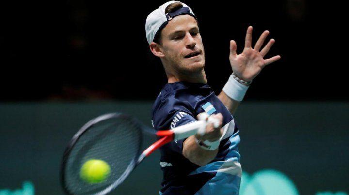 Schwartzman no pudo con Nadal y la serie se define en el dobles