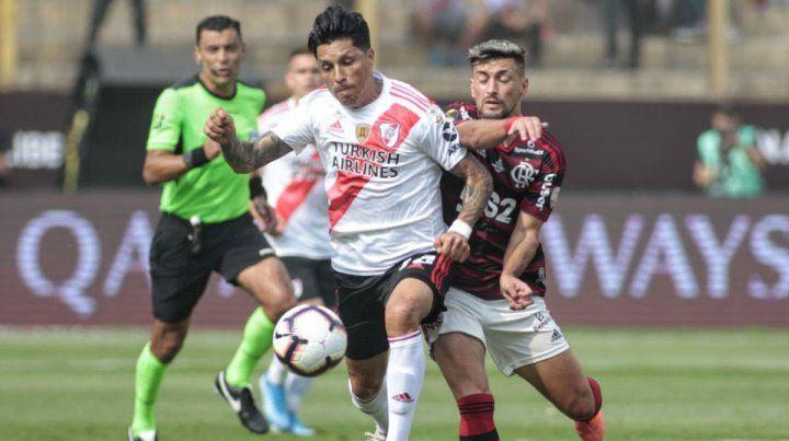 El gran gesto de Enzo Pérez tras haber perdido la final de la Libertadores