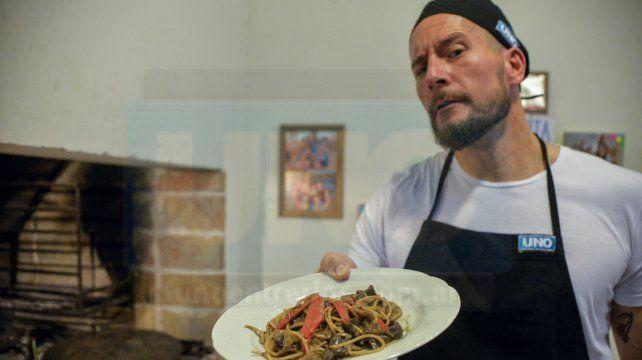 Facundo Galanti y una receta con personalidad: The Spaghetti Incident