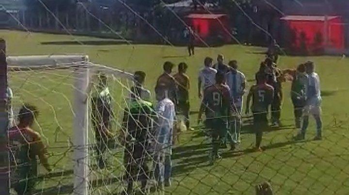 Agredieron a un árbitro en la Liga Federalense