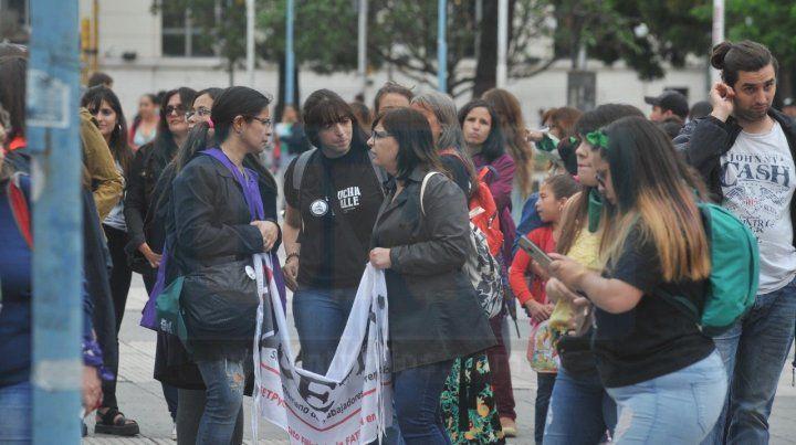 La marcha #25N en imágenes