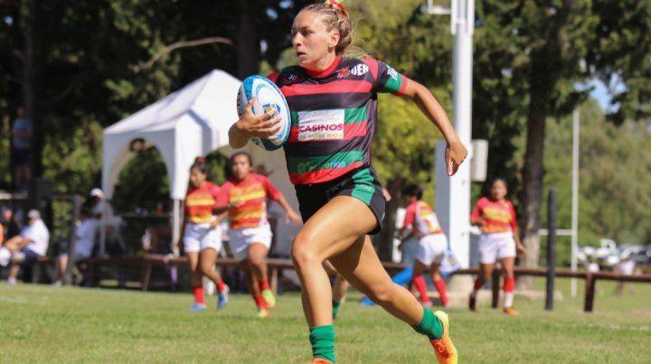 Antonella Reding es una de las jugadores emblemáticas del seleccionado Mayor.